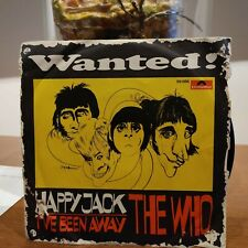 The Who ‎– Happy Jack 45 Giri Italian Second Issue 1967  Polydor ‎– 59 056