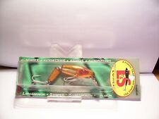 VINTAGE L&S MIRROLURE OOM-RB SINKING JOINTED LURE NIB HARD TO FINE