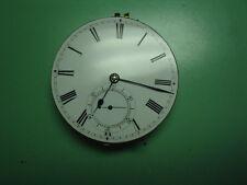 English Grimalde & Johnson Pocket Watch Movement Chain Fusee. Working.