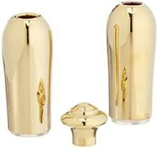 NEW Delta Faucet A24 2 Metal Lever Handle Accent Kit Polished Brass Finish