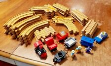FISHER PRICE GEO TRAX TRAIN AND TRACK LOT SET