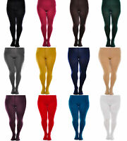 Ladies Thick Opaque Metallic Tights 60 denier Aurellie Small-Large//UK 8-12
