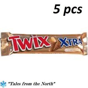 Twix Xtra bar, 5 pcs x 82 g (2.89 oz)