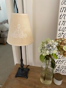 Table lamps French Provincial style x 2