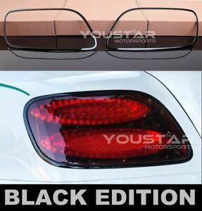 USA STOCK Black Edition Rear Light Trims for Bentley Continental GT GTC SPEED