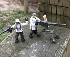 LEGO / MEGA BLOKS WW2 Squad US Army Minifigure Soldiers LOT 109