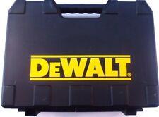 DEWALT SINGLE TOOL CASE HARD PLASTIC W/  INTEGRATED HANDLE FOR DRILLS/IMPACTS