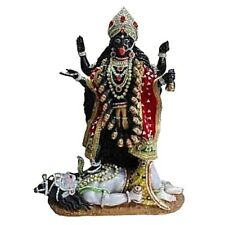 KALI STATUE RESIN HINDU GODDESS HANDCRAFTED BEAUTIFUL FIGURINE 61CMS High
