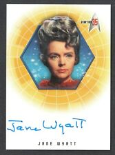 STAR TREK 35th ANNIVERSARY 2001 AUTOGRAPH CARD #A7 JANE WYATT