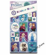 GIRL BIRTHDAY PARTY FROZEN PRINCESS STICKER BOOK 12 SHEETS 288PK FAVOUR LOOT BAG