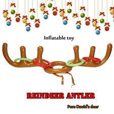 Hot Sale Christmas PVC Antlers Inflatable Cap, Animal Horn Cap