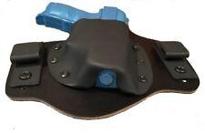 Leather Kydex Holster fits  HI-POINT C9 Black J-Hooks RH draw MTO HOLSTER
