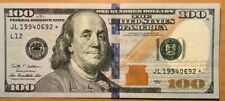 2009 $100 UNIQUE SERIAL NUMBER BIRTHDAY DATE DOLLAR BILL 1994/06/9, 11 Or 2 , 29