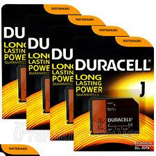 4 x Duracell Alkaline J 6V batteries 4LR61 7K67 539 KJ 1412AP Camera EXP:2019