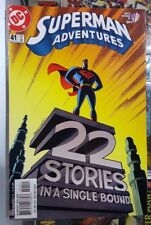 Superman Adventures #41 - 22 Stories in a Single Bound - WB Kids DC Comics '00 @