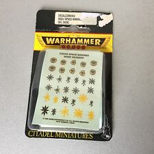 VINTAGE#Warhammer 40K - Chaos Space Marine Word  Bearers Decals#MOSC
