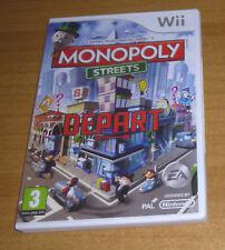 Jeu nintendo wii - Monopoly streets (jeu de société)