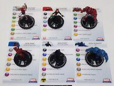 Heroclix Marvel Classics set COMPLETE Iron Man 6-figure Mega Pack lot w/cards!