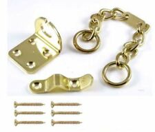Security Door Chain U.A.P (DCBN) Chubb Style in Polished Brass