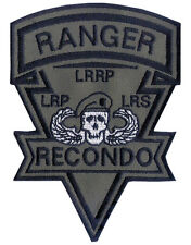 OD Recondo Embroidered Patch - Ranger Airborne - Vietnam - 101st Airborne - LRP