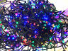 AU 120/240 Multicolour LED String Solar Fairy Lights Xmas Party Garden Outdoor
