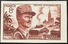 Francia. MH Yv 942a. 1953. 8 Fr Auburn Rojo. Sans Dentar. Magnifico. Yvert 201