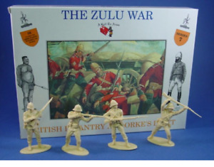 BRITISH INFANTRY AT RORKE'S DRIFT - THE ZULU WAR - CALL TO ARMS - A1