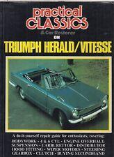 TRIUMPH HERALD & VITESSE ( 1959 - 1971 ) MECHANICAL & BODYWORK RESTORATION BOOK