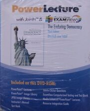 New! The Enduring Democracy Power Lecture W Joinin & Examview 3Rd Edition Dvd