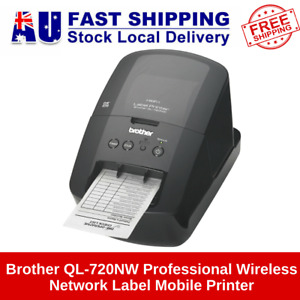 Brother QL-720NW Professional Wireless Network Label Mobile Printer