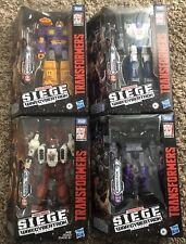 Transformers Siege Deluxe Wave 4 Set Sixgun Mirage Impactor Barricade In Stock