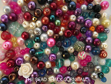 Bead Mix - Discontinued / Imperfect -Ideal Mosaic, Decor etc-approx 90g per bag