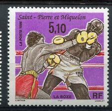 ST-PIERRE-et-MIQUELON, 1996, timbre 625, SPORT, BOXE, neuf**