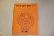 STIHL CHAINSAW 009 010 011  REPAIR SERVICE MANUAL    ----  MANUAL 102A