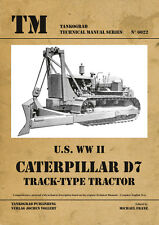 TANKOGRAD 6022 U.S. WWII CATERPILLAR TRACK TYPE TRACTOR TECHNICAL MANUAL