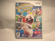 NINTENDO WII The Lapins Crétins Show
