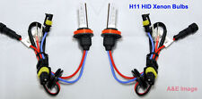H11 10000K 35W HID Xenon Replacement Bulb 2 Bulbs for Headlight lamps Light Blue