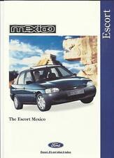 FORD ESCORT SPECIAL EDITION MEXICO SALES BROCHURE JUNE 1995