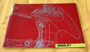 Ferrari 355 F1 1997 Presse Prospekt Media Press Brochure Depliant Catalogue