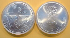 CANADA 1976 OLYMPIC $10 SILVER COIN *No 21**