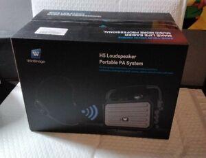 Winbridge voice amplifier H5 Loudspeaker Portable PA System