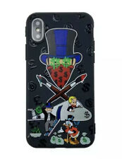 Luxury Iphone XR Alec Monopoly Man Phone Case Silicon Protective Iphone Case