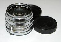 Canon Serenar 50mm 1.8 Lens Leica M39 RF Coupled SN 60492