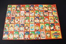 Japanese baseball central league stars + Babe Ruth Menko Card set (mn78)
