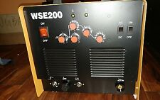 Available now TIG WSE-200 WELDER AC/DC  220V 1PH  w/ foot pedal