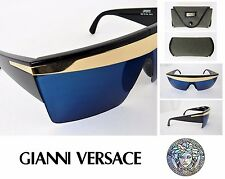 RARE! VTG GIANNI VERSACE Sunglasses 676 Update LADY GAGA Original Case AUTHENTIC