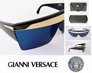 RARE! VTG GIANNI VERSACE Sunglasses 676 Update LADY GAGA Original Case AUTHENTIC
