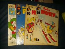 Baby Huey 4 Issue Silver Modern Age Harbey Comics Lot Run Set Collection papa