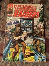 Captain Savage and His Leatherneck Raiders #8 in F cond. Marvel comics