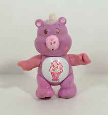 "RARE Vintage Design 1983 Share Bear Milkshake 3.5"" Action Figure Care Bears"